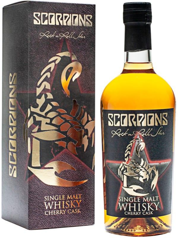 Scorpions Single Malt Whisky Cherry cask