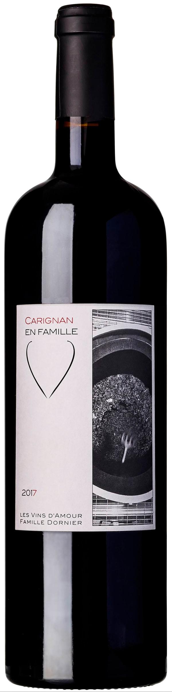 Clos des Vins d'Amour Carignan en Famille 2017