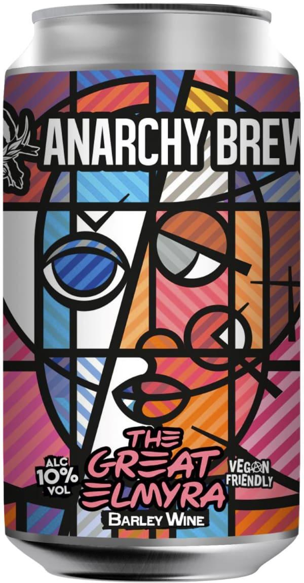 Anarchy The Great Elmyra Barley Wine can