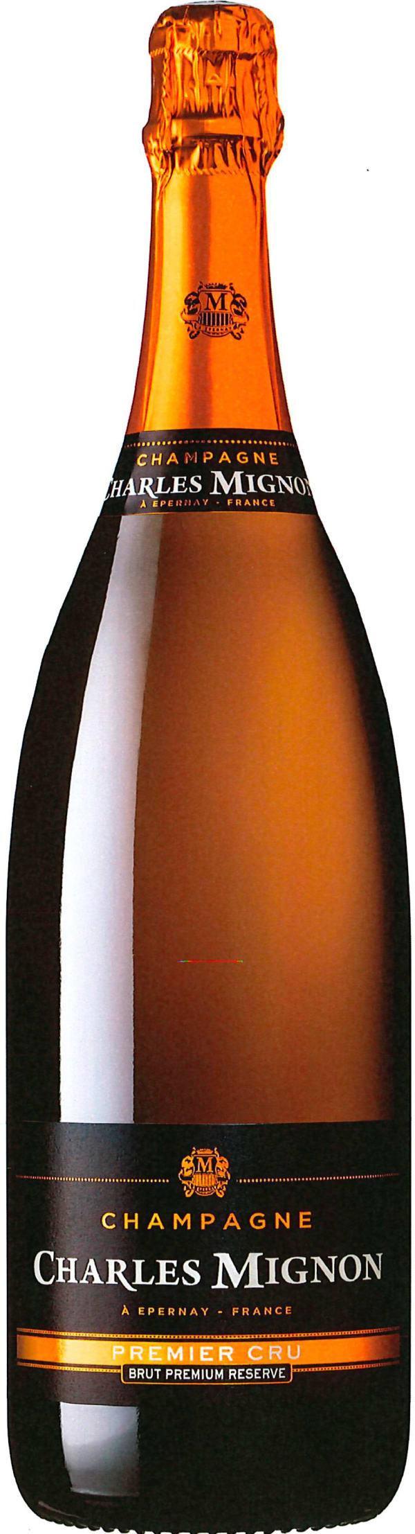 Charles Mignon 1er Cru Premium Reserve Champagne Brut Jeroboam