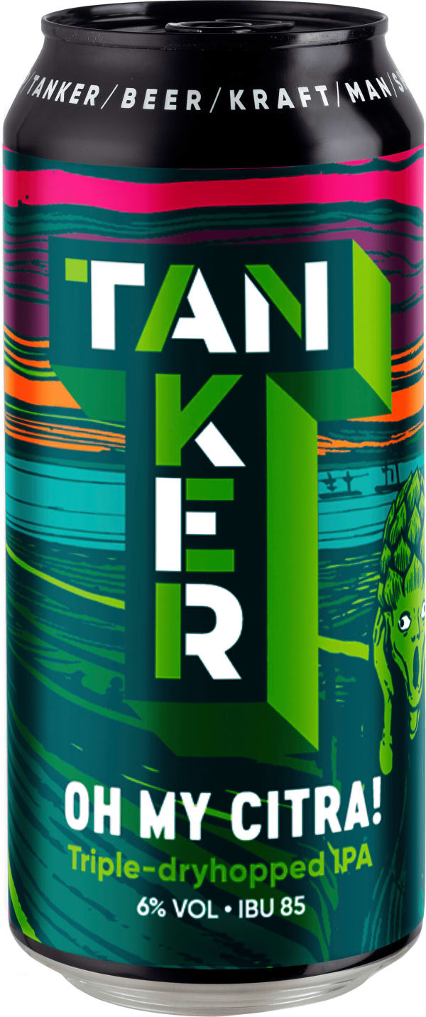 Tanker Oh My Citra! IPA can