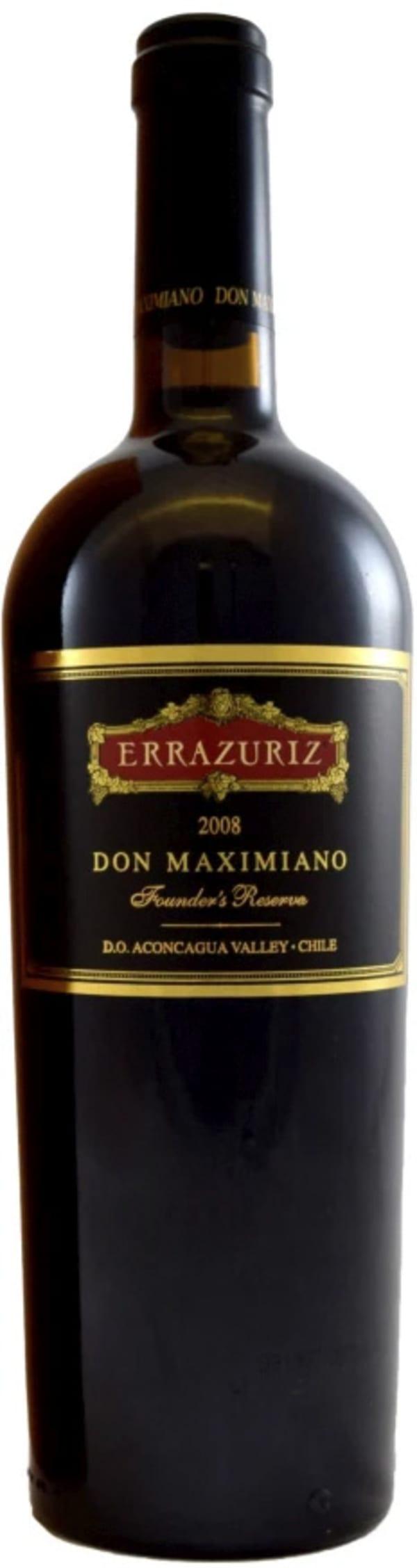 Errazuriz Don Maximiano Founders Reserve 2008