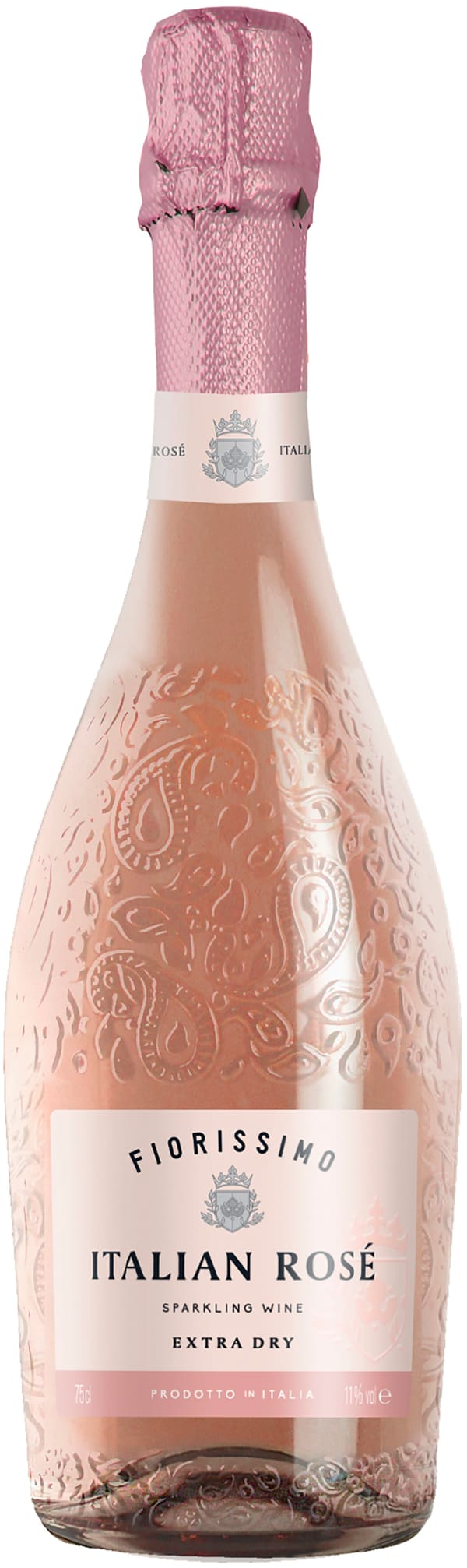 Fiorissimo Italian Rosé Sparkling Wine Extra Dry