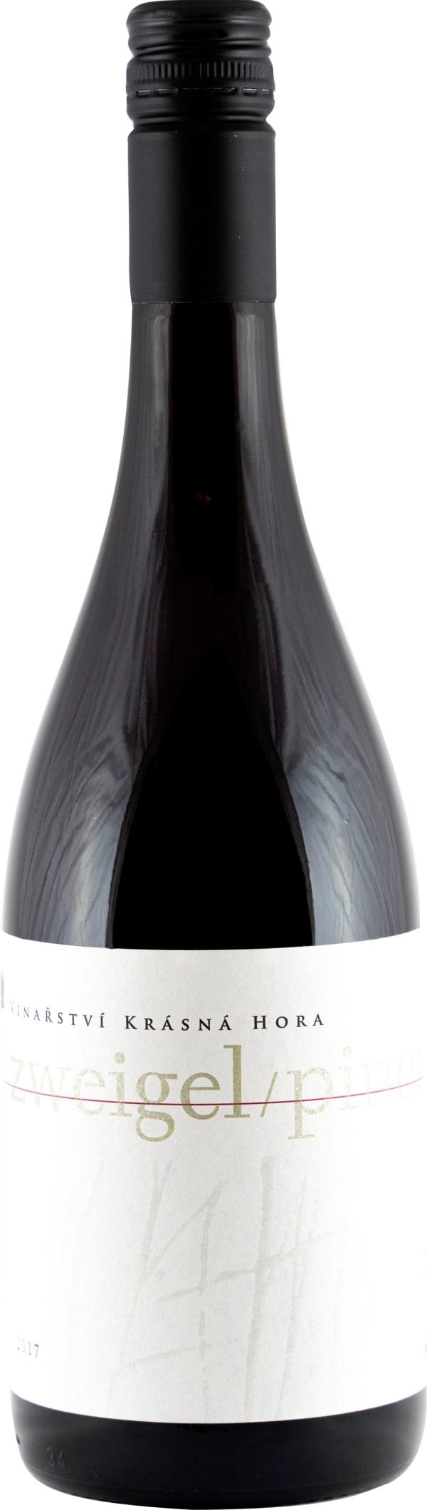 Krasna Hora Zweigel/Pinot Noir 2017