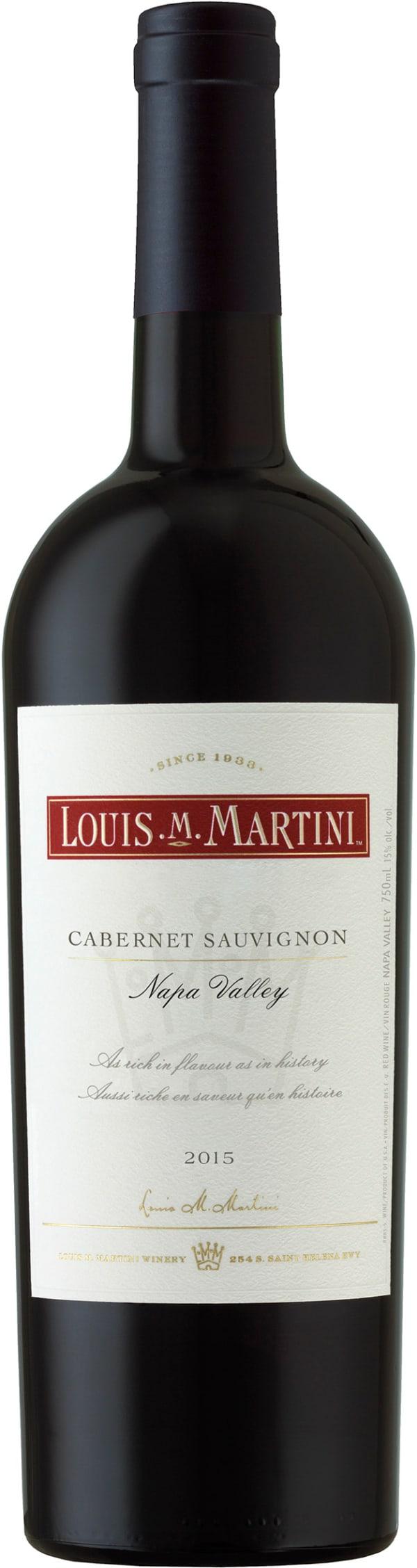 Louis Martini Napa Valley Cabernet Sauvignon 2014