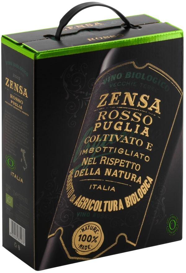 Zensa Rosso Organico 2018 bag-in-box