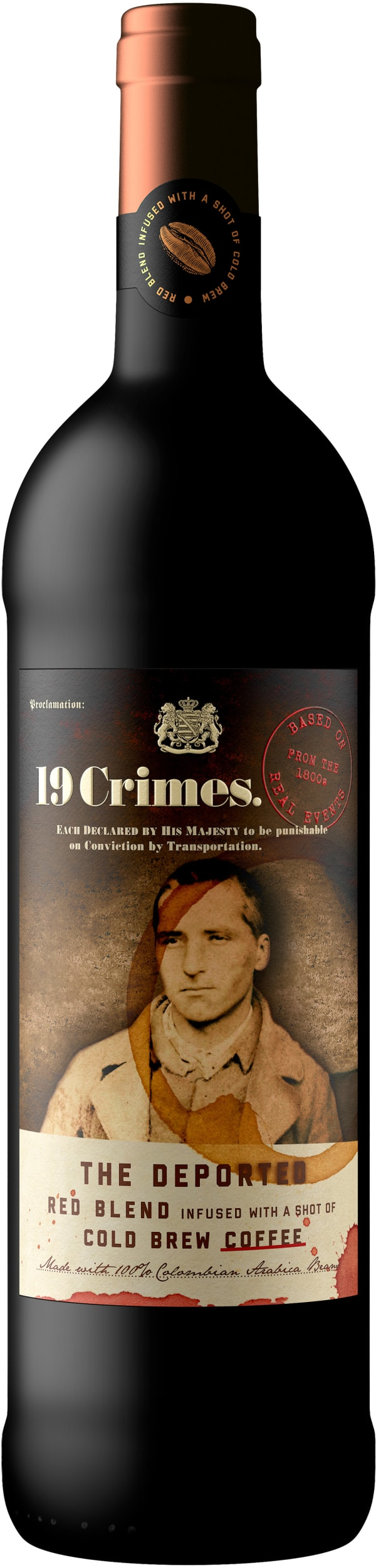 19 Crimes The Deported Coffee Red