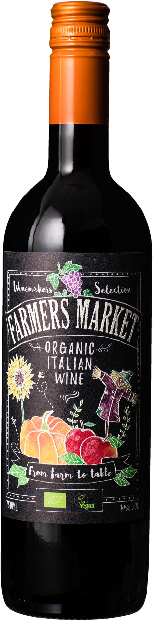 Farmers Market Organic Red
