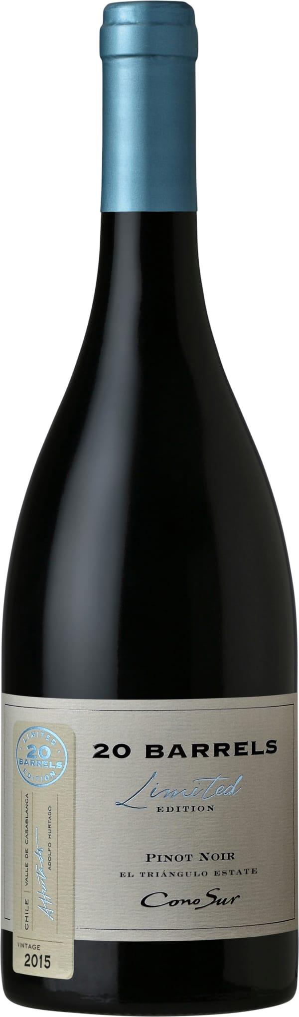 Cono Sur 20 Barrels Pinot Noir 2016