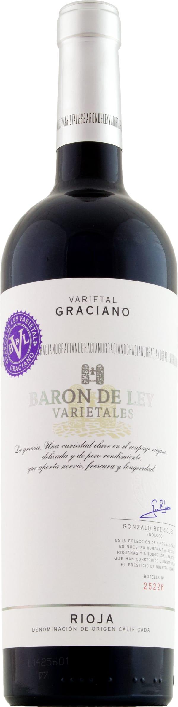 Barón de Ley Varietal Graciano 2016