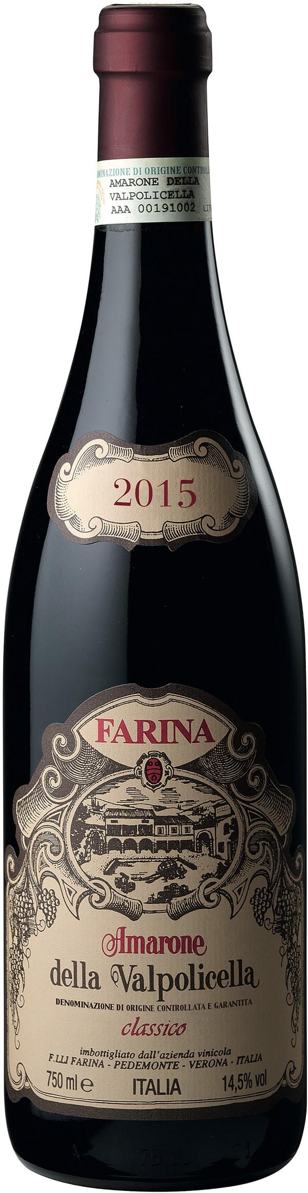 Farina Amarone della Valpolicella Classico 2015