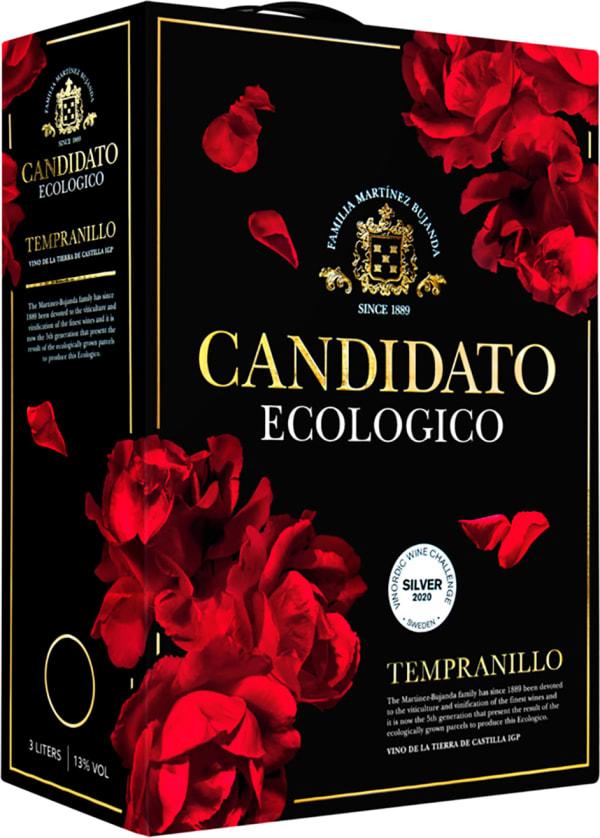 Candidato Ecologico Tempranillo 2017 bag-in-box