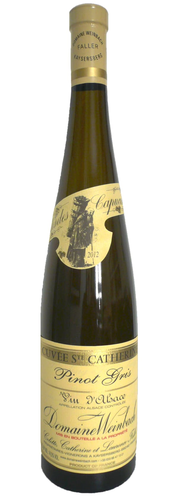 Domaine Weinbach Cuvée Ste Catherine Pinot Gris 2013
