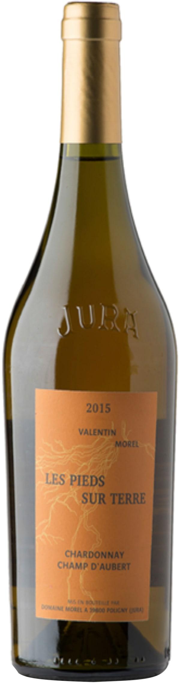 Valentin Morel Les Pieds sur Terre Chardonnay Champ d'Aubert 2015