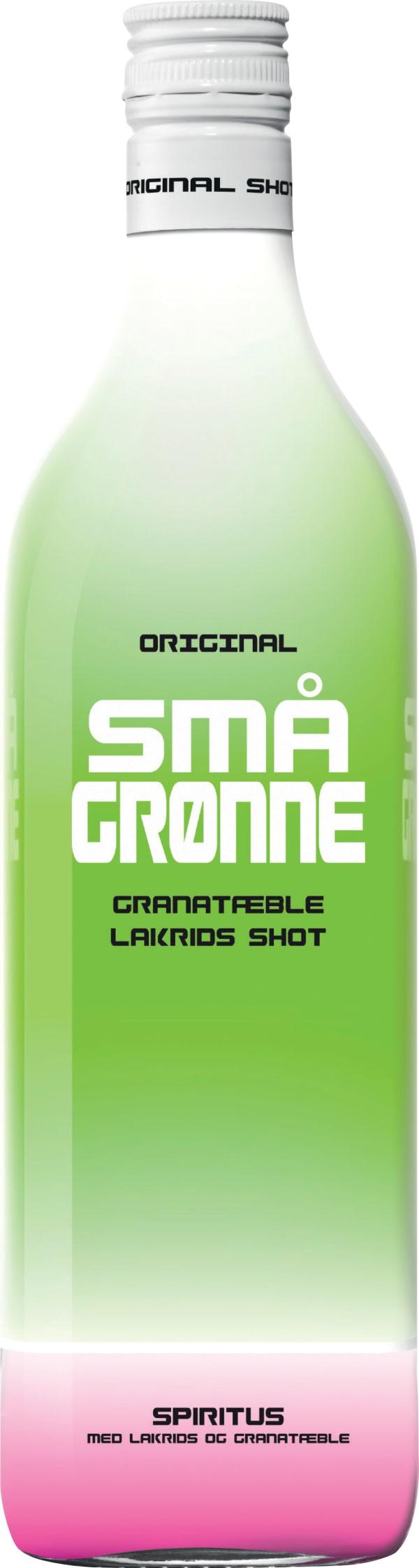 Små Gronne Granatable Lakrids Shot plastflaska