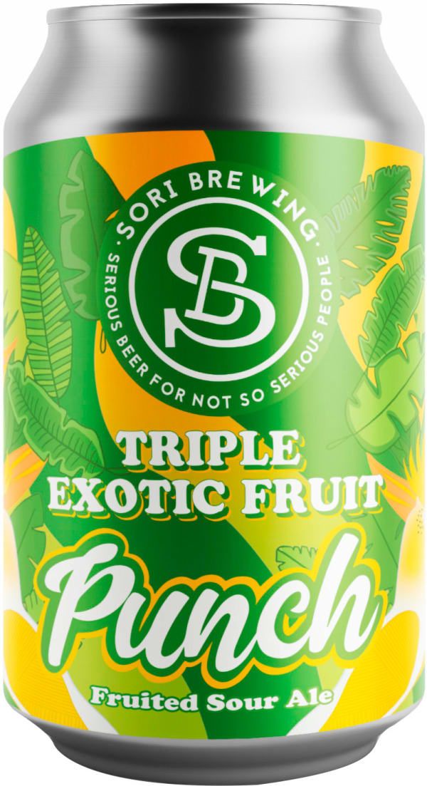 Sori Triple Exotic Fruit Punch can