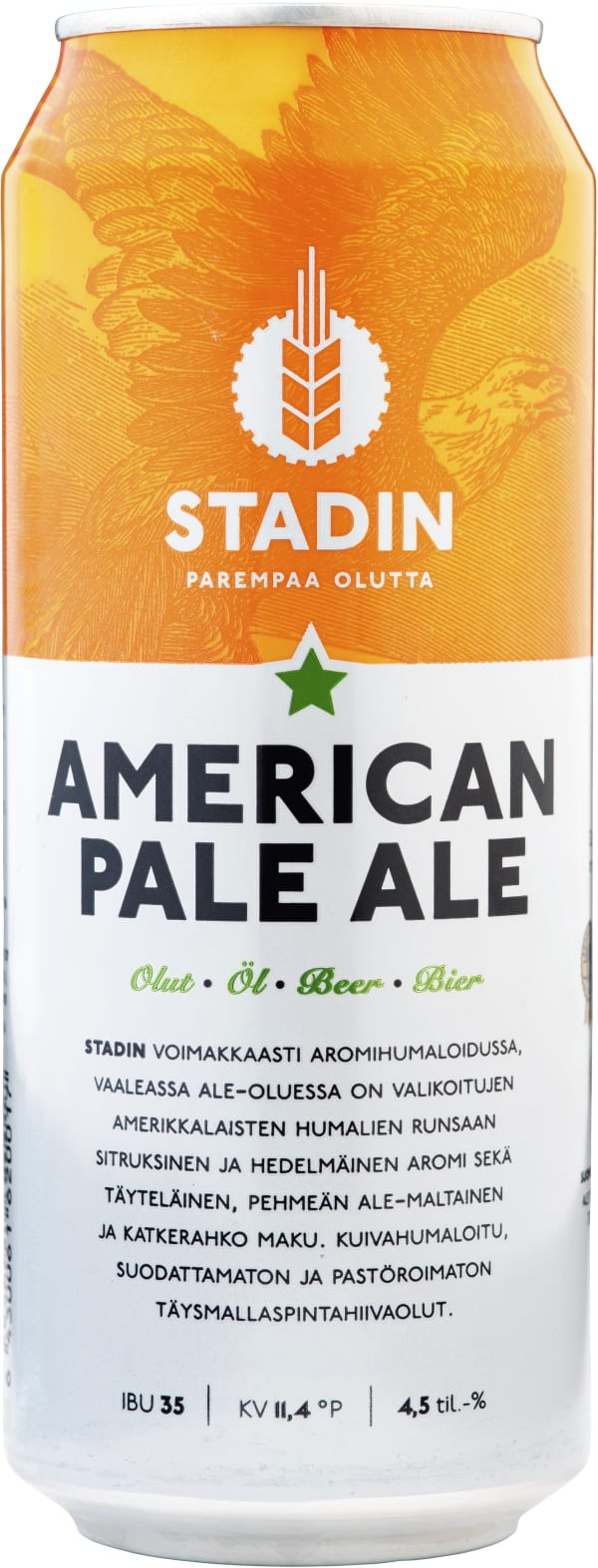 Stadin American Pale Ale can