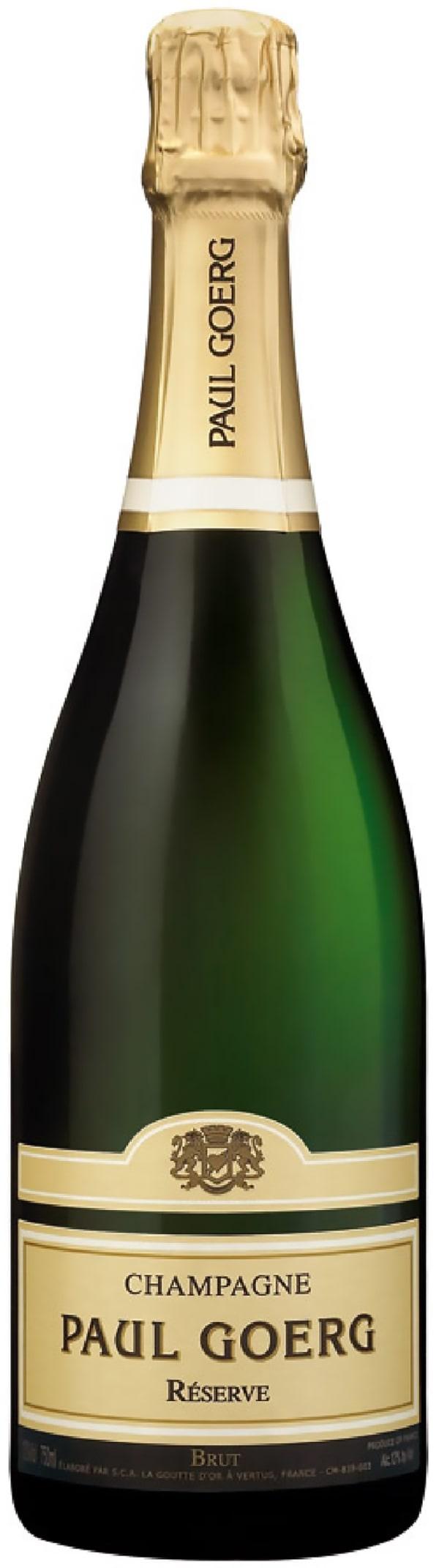 Paul Goerg Réserve Champagne Brut