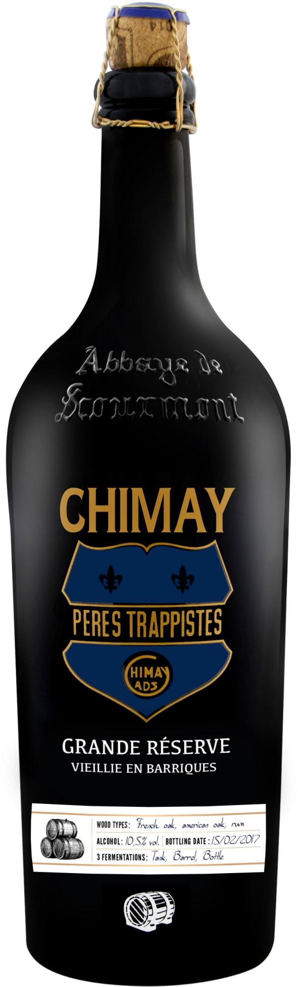 Chimay Grande Réserve Oak Aged Rum Edition 2017