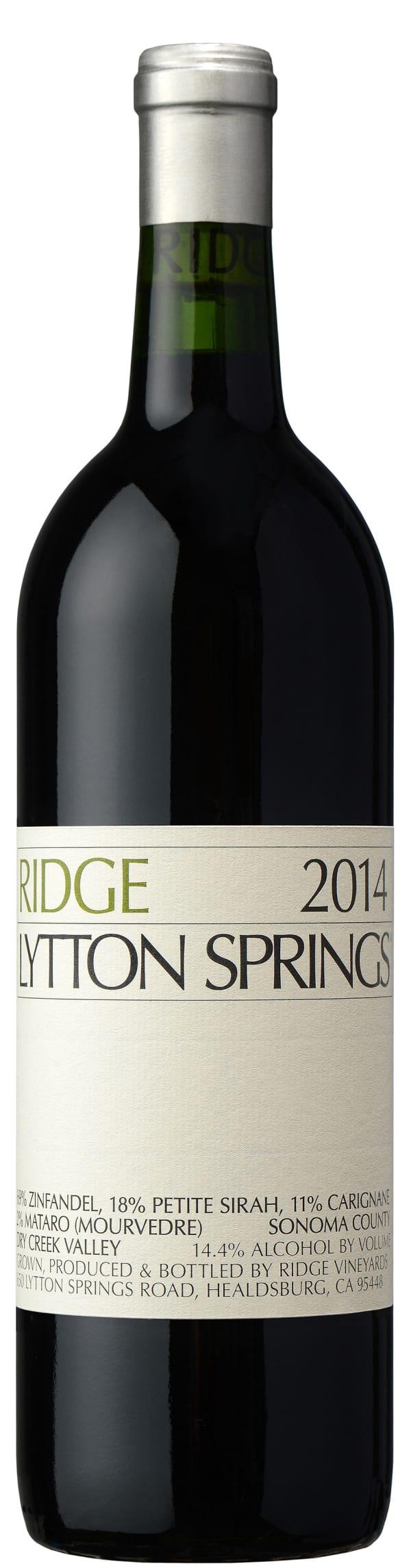 Ridge Lytton Springs 2016