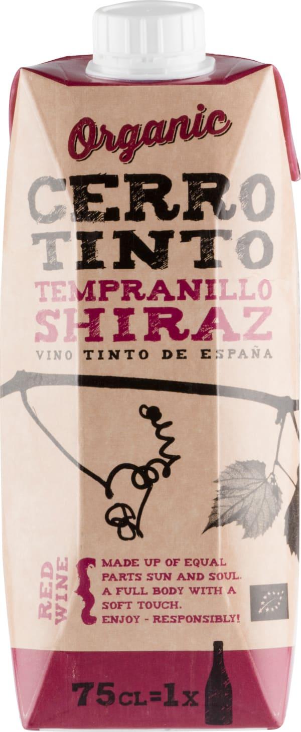 Cerro Tinto Organic Tempranillo Shiraz carton package