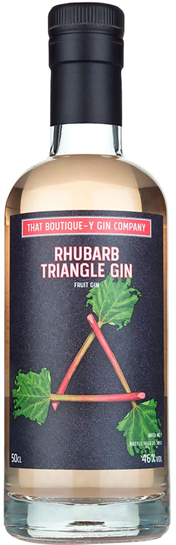That Boutique-y Gin Company Rhubarb Triangle Gin