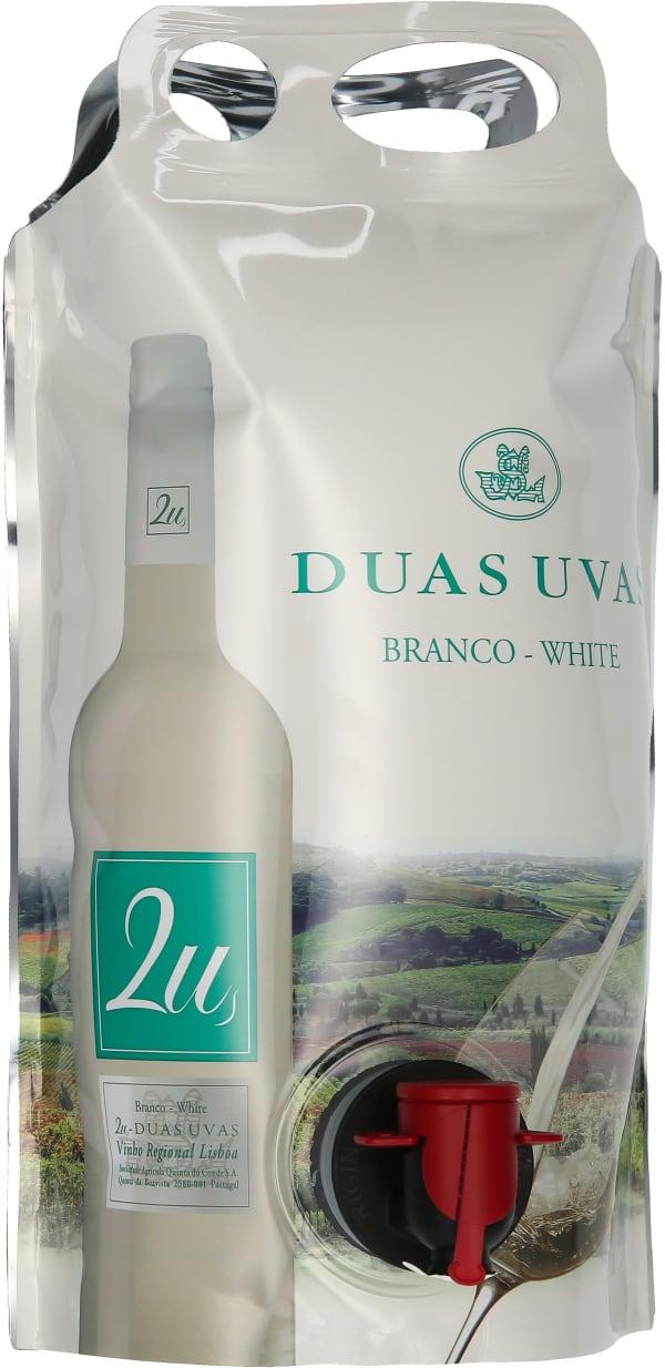 2U Duas Uvas White 2020 wine pouch