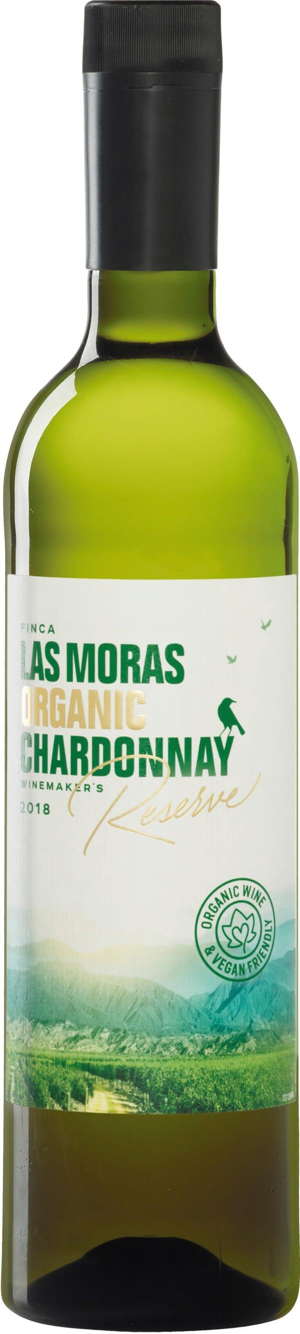 Finca Las Moras Organico Reserve Chardonnay 2018 plastflaska