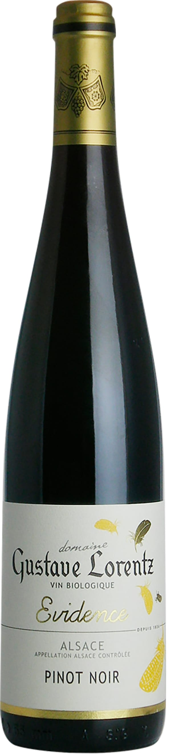 Gustave Lorentz Évidence Pinot Noir  2016