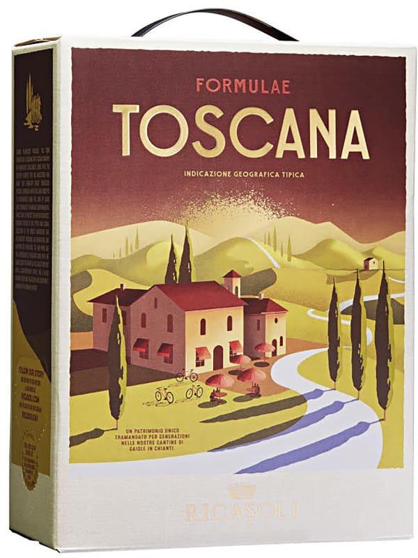 Barone Ricasoli Formulae Toscana 2018 lådvin