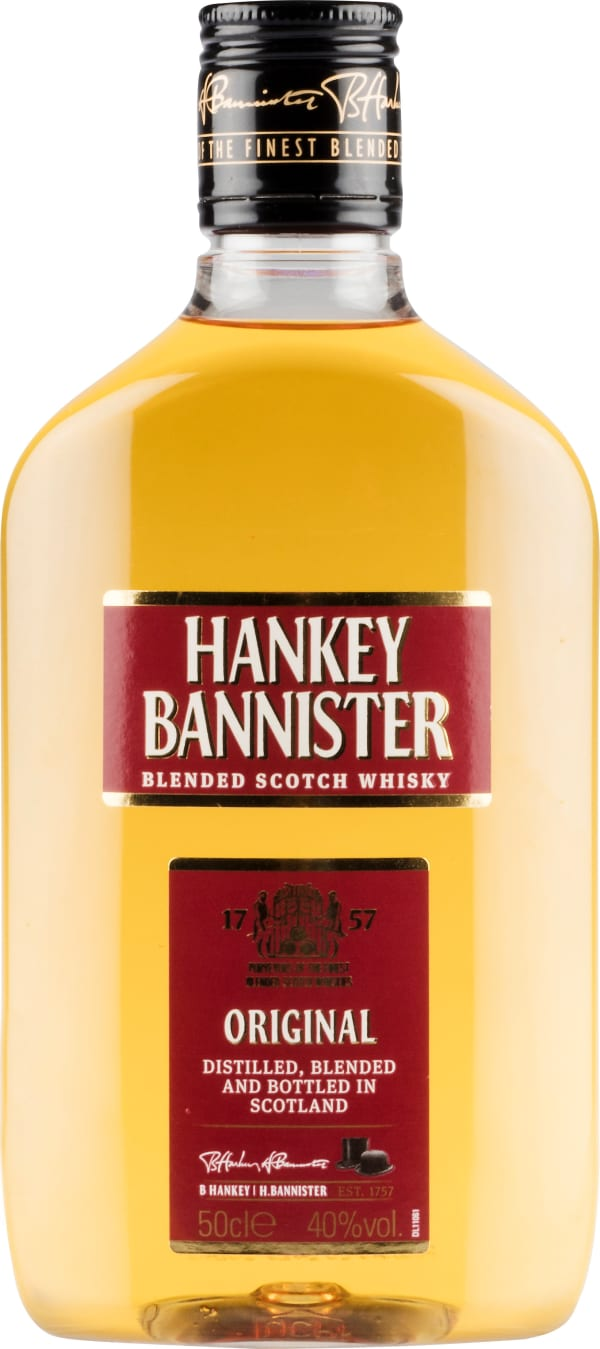 Hankey Bannister plastflaska