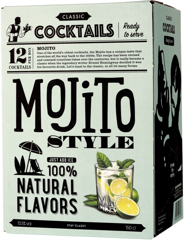 Classic Cocktails Mojito bag-in-box