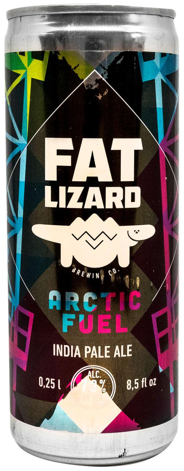Fat Lizard  Arctic Fuel IPA can