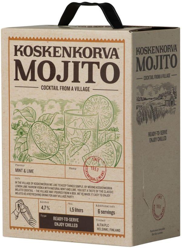 Koskenkorva Mojito bag-in-box