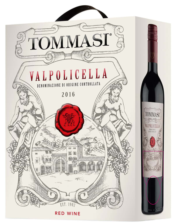 Tommasi Valpolicella 2019 hanapakkaus