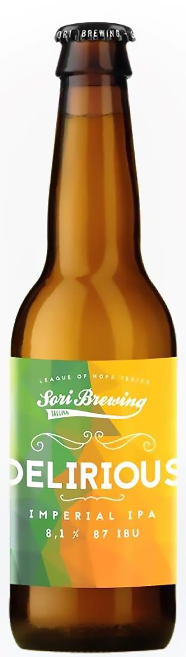 Sori Brewing Delirious Imperial IPA