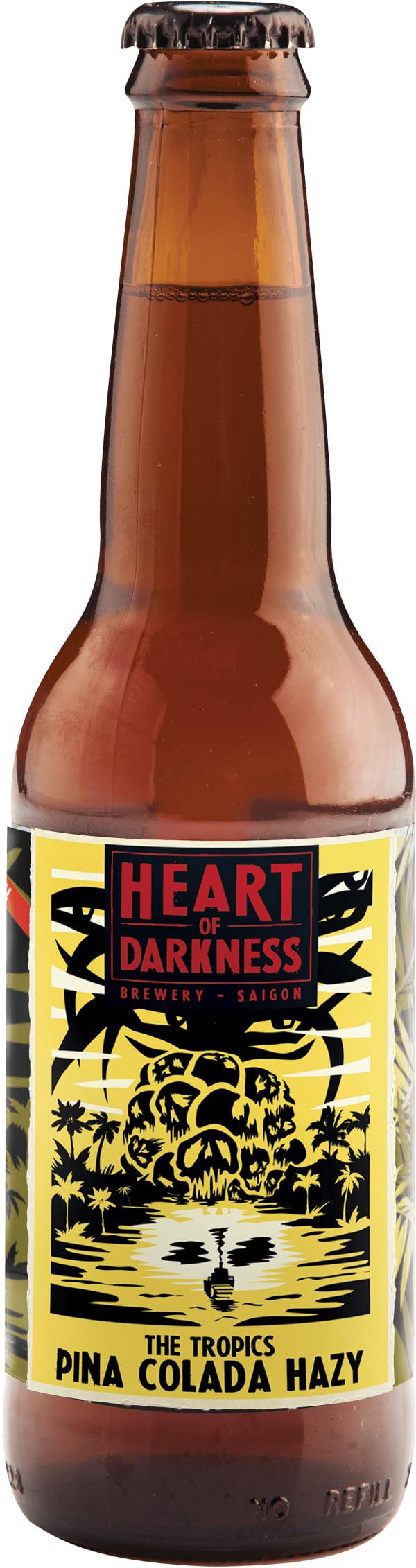Heart of Darkness The Tropics Pina Colada Hazy