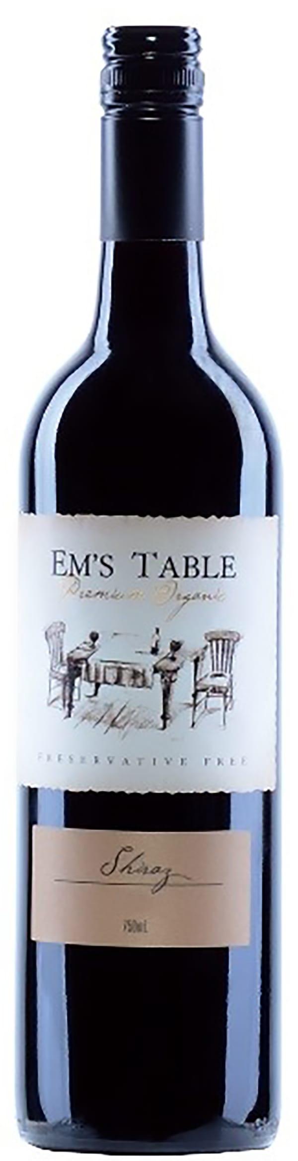 Em's Table Shiraz 2013