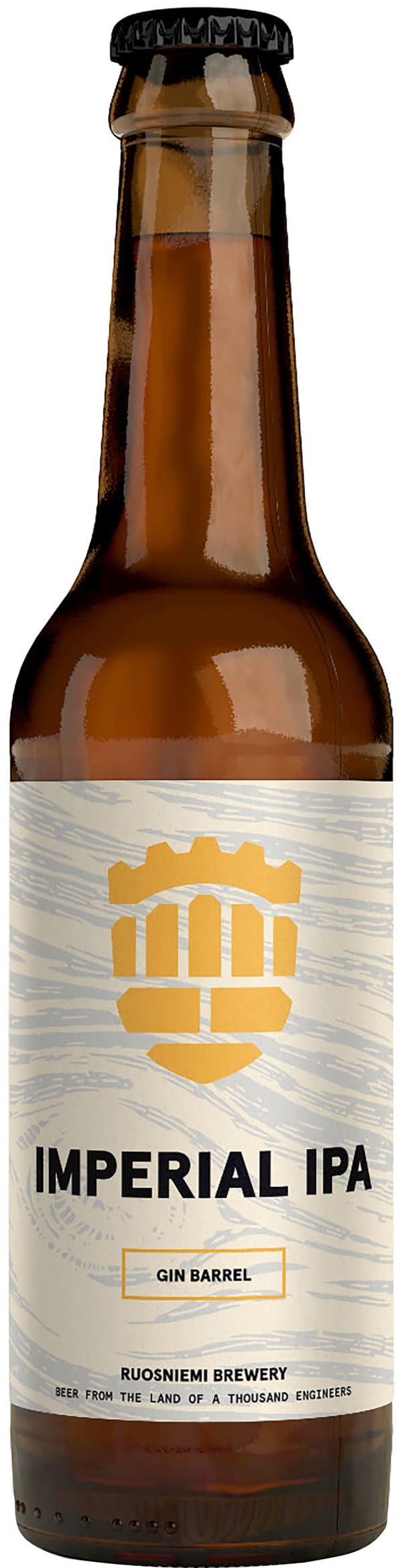 Ruosniemen Gin Barrel Imperial IPA