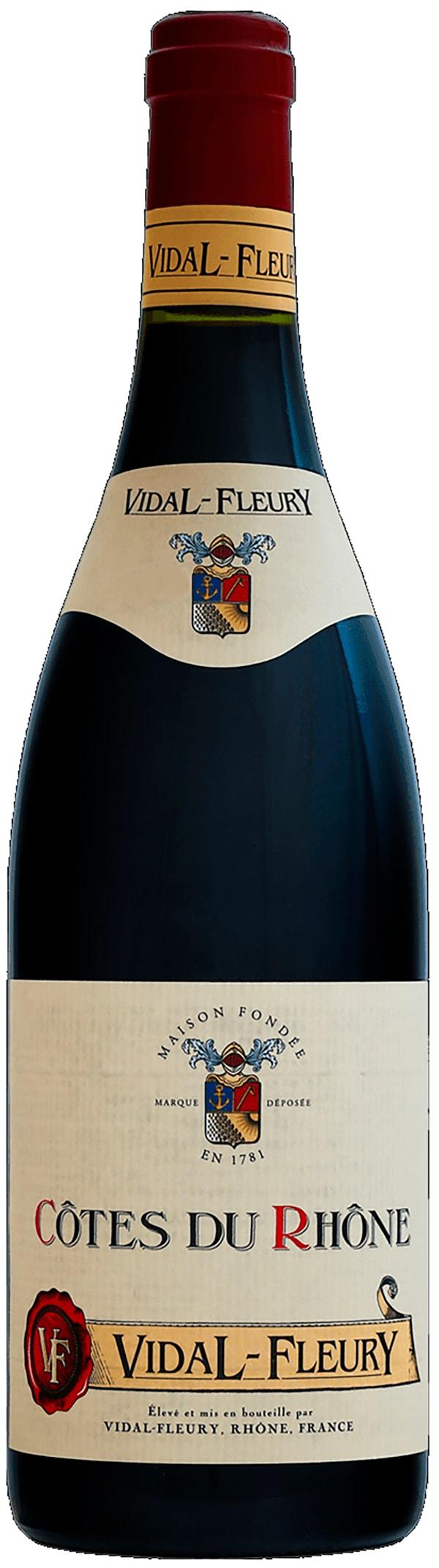 Vidal-Fleury Côtes du Rhône 2016