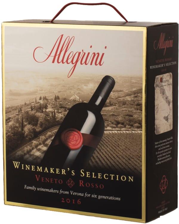 Allegrini Winemaker's Selection Veneto Rosso 2016 hanapakkaus