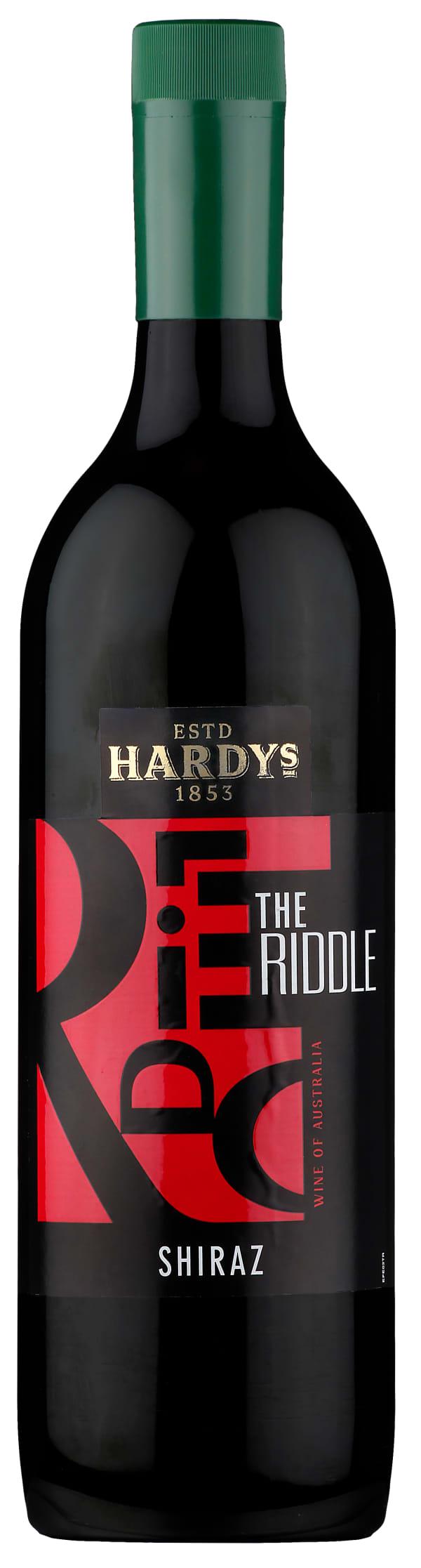 Hardys The Riddle Shiraz 2016 muovipullo