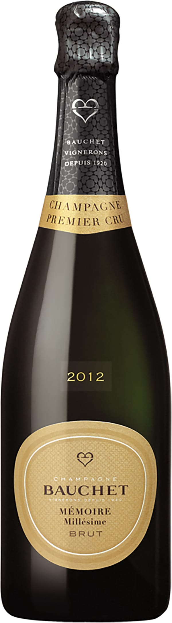 Bauchet Mémoire Millesime Premier Cru Champagne Brut 2012