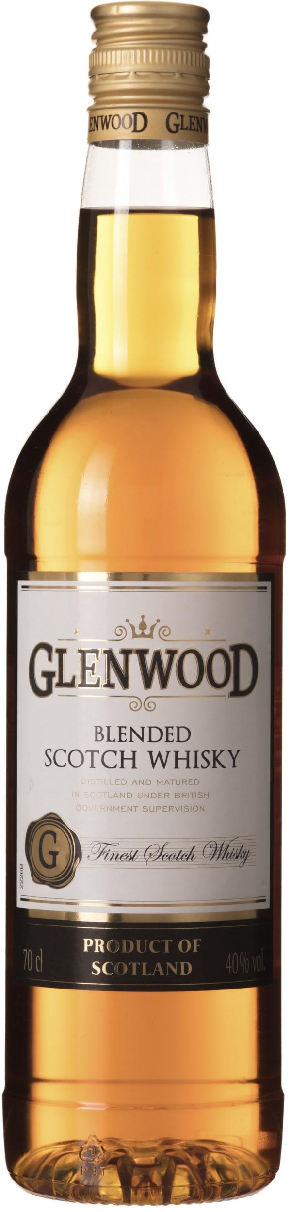 Glenwood plastic bottle