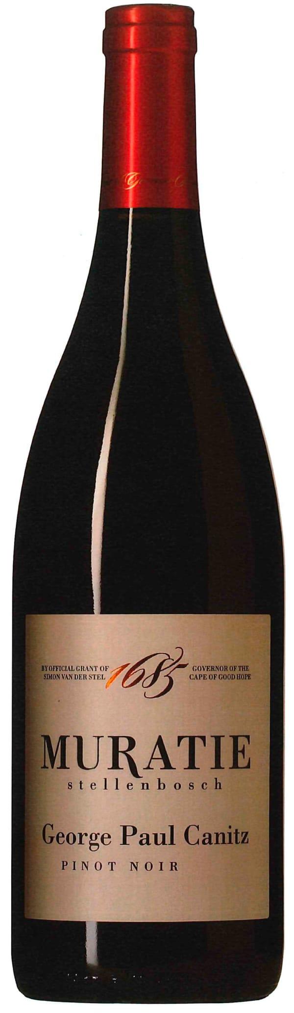 Muratie George Paul Canitz Pinot Noir 2014