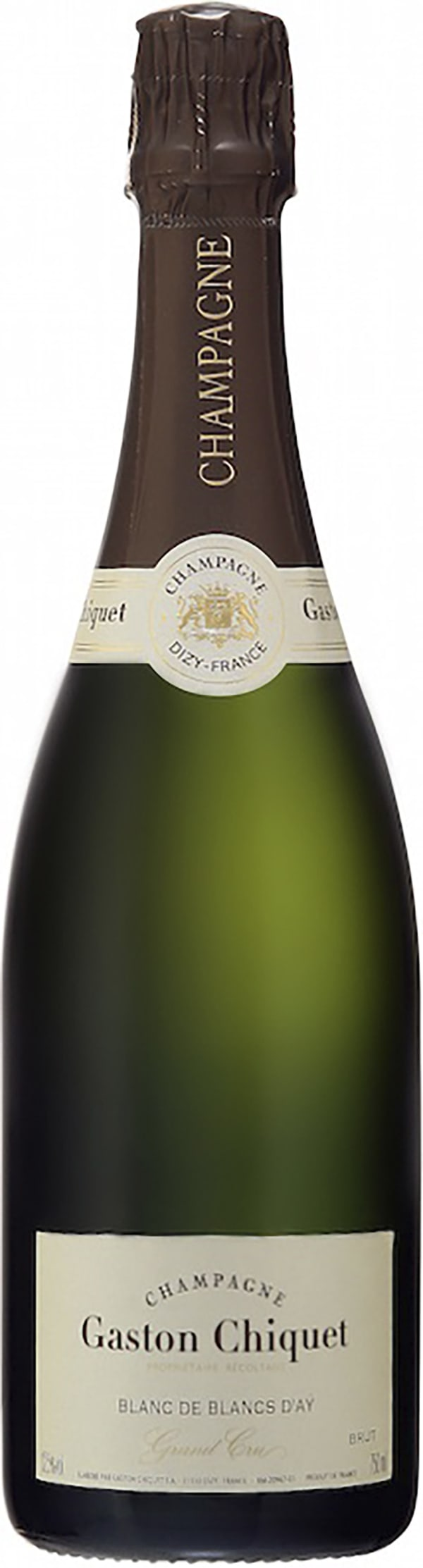Gaston Chiquet Blanc de Blancs D'Aÿ Grand Cru Champagne Brut