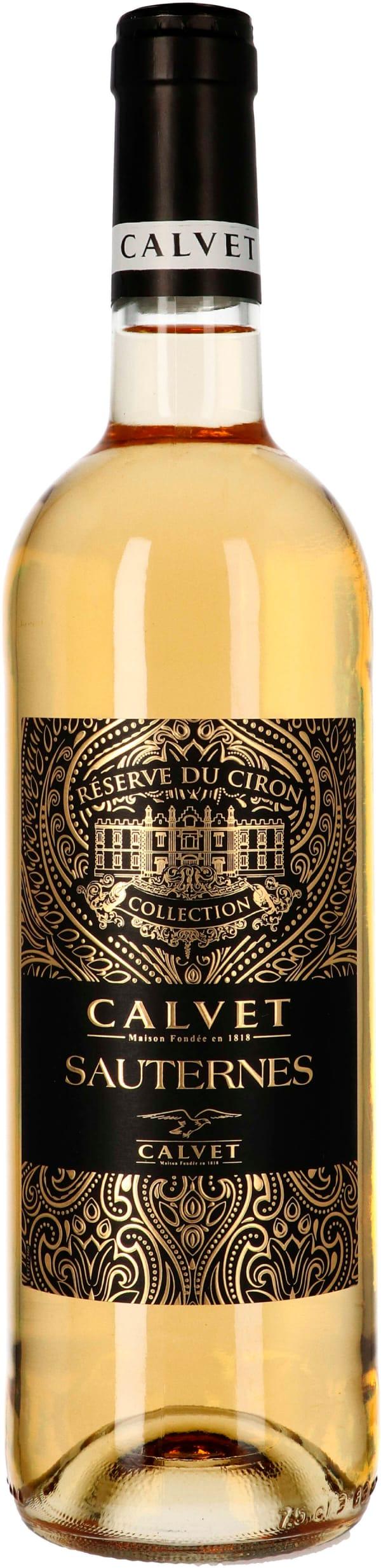 Calvet Réserve du Ciron Sauternes 2017