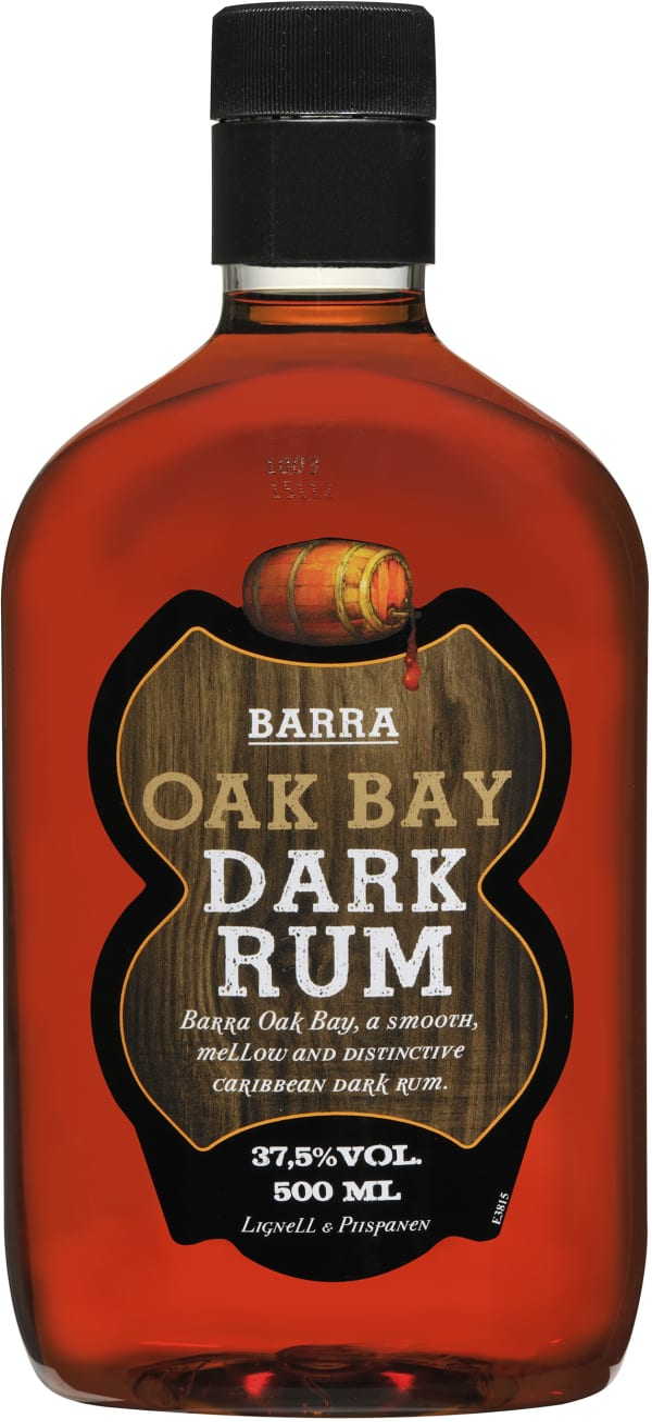 Barra Oak Bay Dark plastic bottle