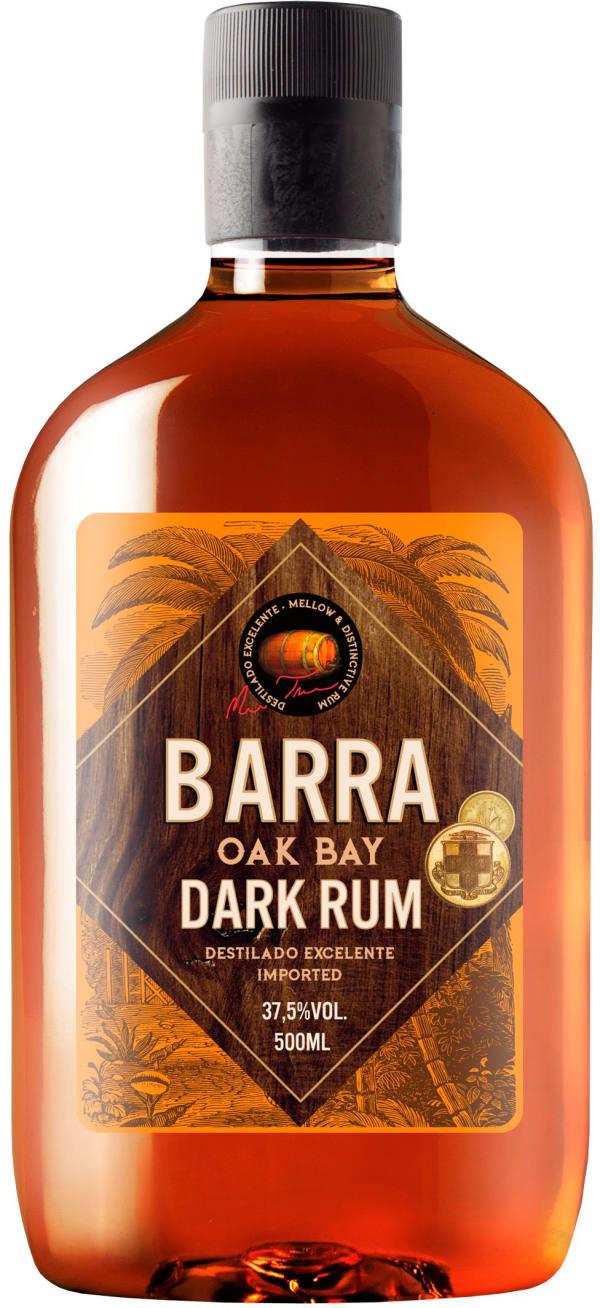Barra Oak Bay Dark Rum plastflaska