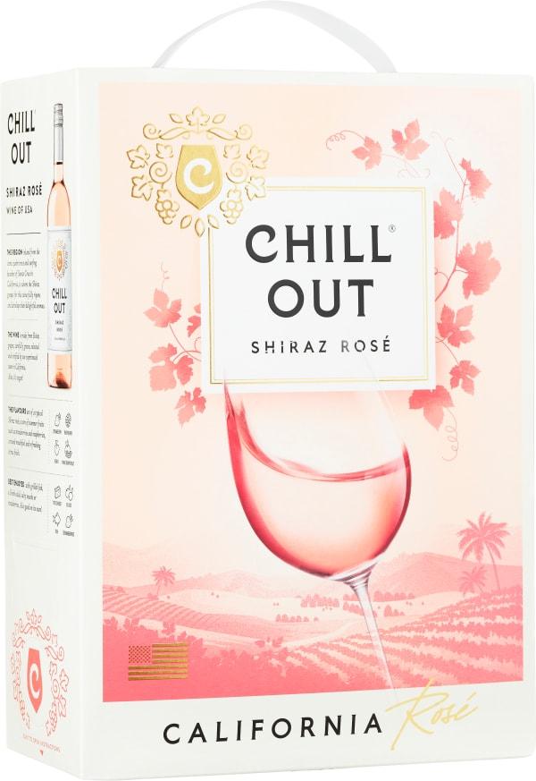Chill Out Shiraz Rosé 2017 bag-in-box